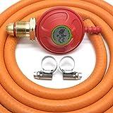 Best Propane Bbqs - IGT 37Mbar Propane Gas Regulator & 2M Hose Review