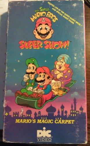 The Super Mario Bros. Super Show: Mario's Magic Carpet [VHS]