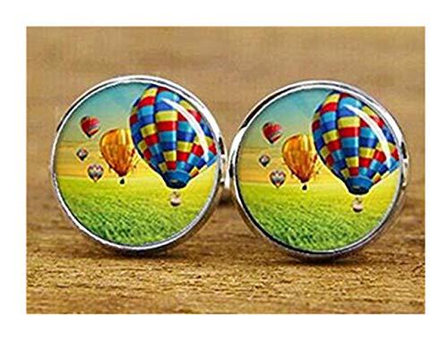 we are Forever family Manschettenknöpfe Heißluftballon Feuerballon