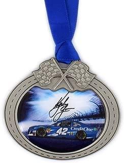 Sparta Kyle Larson Car Pewter Metal NASCAR Christmas Ornament