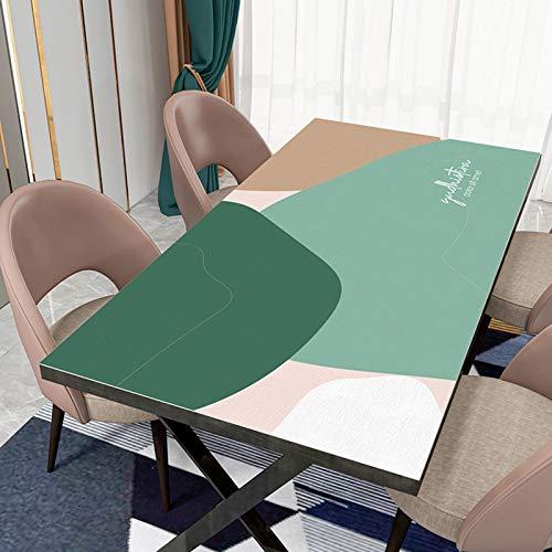 Hs&sure Manteles de PVC rectangulares Tableros limpiables Tablas a Prueba de Aceite a Prueba de Aceite para cenar Fiesta de Cocina (Size : 80 * 130CM)