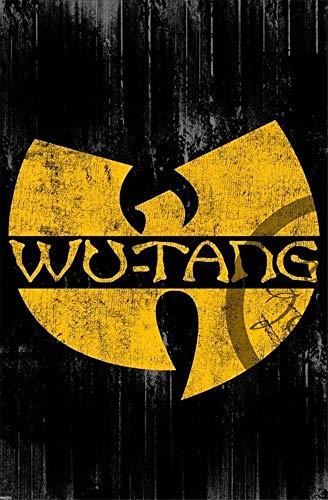 Wu-Tang Metall Blechschild Retro Metall gemalt Kunst Poster Dekoration Plaque Warnung Bar Cafe Garage Party Game Room Hauptdekoration