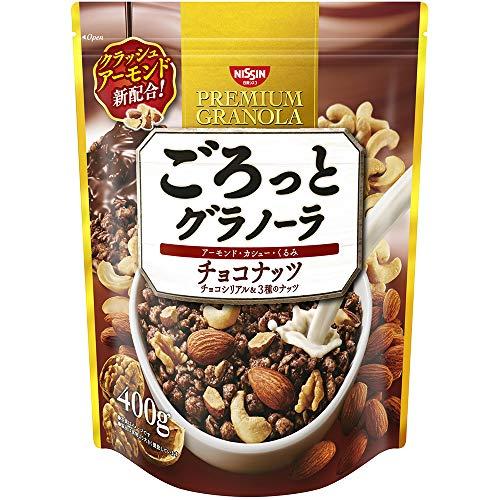 日清シスコ ごろっとグラノーラ チョコナッツ 400g B07N7DJNFX 1枚目