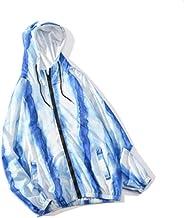 XIELH Herfst Hemel Blauwe Streetwear Tie Dye Mannen Hip Hop Gedrukt Losse Hooded Jassen Streetwear Casual Hoodies Windbrea...