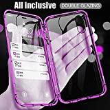 360 Full Body Front Back Double Sided Transparent Tempered