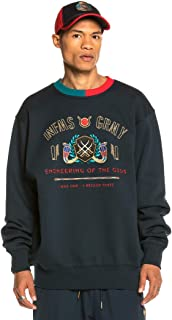 Grimey Engineering Crewneck Herren Sweatshirt schwarz