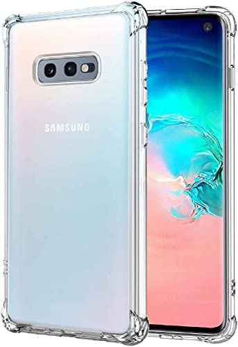 Amazon Brand Solimo Mobile Cover Soft Flexible Shockproof Back Case With Cushioned Edges Transparent For Samsung Galaxy S10e