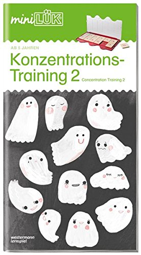 miniLÜK-Übungshefte: miniLÜK: Kindergarten/Vorschule: Konzentrationstraining 2