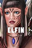Elfin: 150 page lined notebook