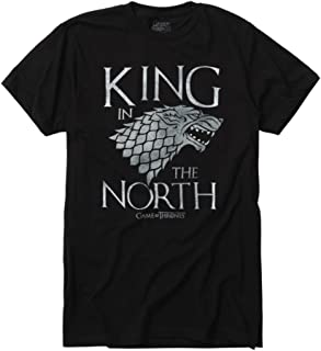 529b9512a9e4 Hot Topic Game of Thrones King in The North T-Shirt