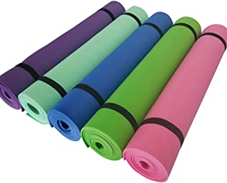 GUOJIAYI 183 * 61 CM * 4 MM yoga mat non-slip foam yoga mat moisture-proof sleeping mat Pilates fitness exercise weight loss