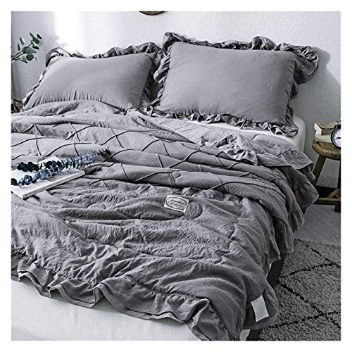 HFXY Breathable And Soft Duvet,Breathable Comforter With 2 Pillowcases Modern All Season Geometric Pattern Bedding (Set Size : Single) 1021