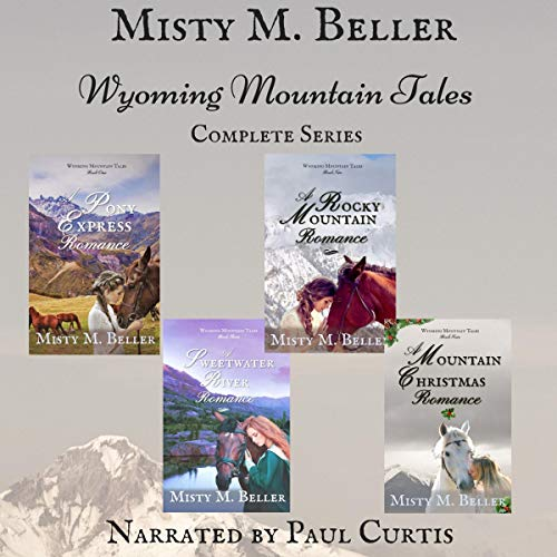 Wyoming Mountain Tales: Books 1 - 4 audiobook cover art
