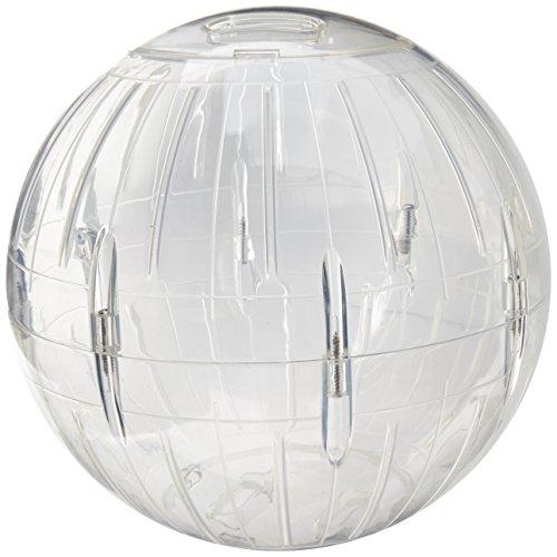 Lee's Kritter Krawler Jumbo Exercise Ball, 10-Inch, Clear
