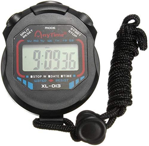 Cronómetro Digital Deportivo, Pantalla LCD Grande Adecuada para fútbol, Baloncesto, Correr, Nadar, Hacer Ejercicio y más