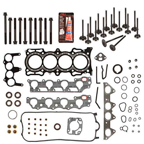 Evergreen HSHBIEV4010 Head Gasket Set Intake Exhaust Valves Compatible with 98-02 Honda Acura F23A1 F23A4 F23A5 A7