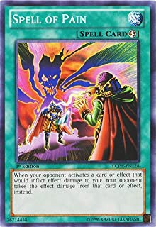 Yu-Gi-Oh! - Spell of Pain (LCJW-EN128) - Legendary Collection 4: Joey's World - 1st Edition - Common by Yu-Gi-Oh!
