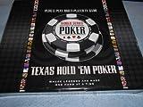 EXCALIBUR ELECTRONIC WSOP Plug N Play 6 Player Texas Hold 'Em Poker VR-39