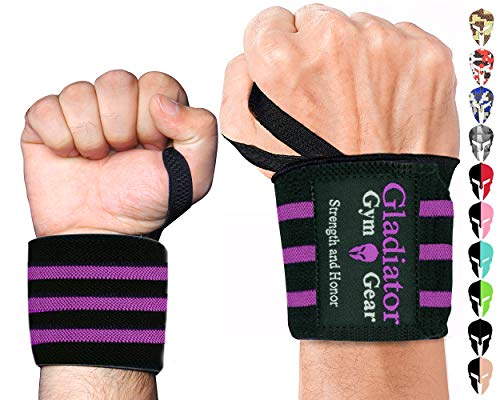 Wrist Wraps For Weightlifting Wrist Support For Workouts. 18 Inch Wrist Straps For Weight Lifting. Weight Lifting Wrist Wraps For Men & Women. Wrist Bands For Working Out For Wrist Compression (p)