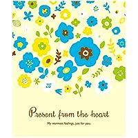 モノココロ 可愛い絵柄のお花たちと一緒に 心からのプレゼントを送る平袋 10枚入