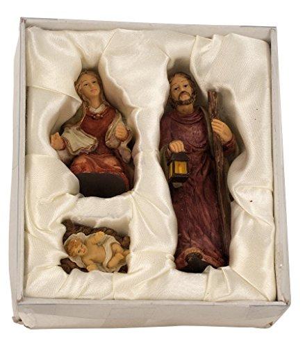 Krippenfiguren 3-teiliges Set Krippe Figuren bis 11 cm