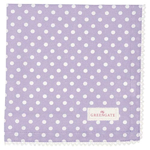 GreenGate - Serviette - Stoffserviette - Spot - Lavender/lila - Baumwolle - 40 x 40 cm