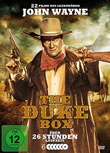 THE DUKE BOX - John Wayne Special Metallbox (22 Filme - 6 DVDs)