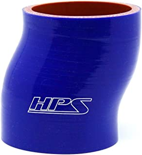 4 Length 3.5 ID HPS HTSHC-350-L4-BLUE Silicone High Temperature 4-ply Reinforced Straight Hump Coupler Hose 35 PSI Maximum Pressure Blue