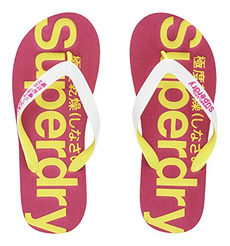 Superdry Fox Light Footwear Unisex, Synthetic/Mesh, Chanclas Mujer