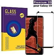 Panzerglas Schutzfolie für Samsung Galaxy S9 ,CaiLai Hohe Qualität 3D Displayschutzfolie [9H Härtegrad] [Ultra Klar] [Anti-Fingerabdruck] [Anti-Kratzen] Gehärtetes Glas Panzerglas Folie für Samsung Galaxy S9
