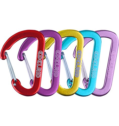 Edelrid Karabiner Micro 0, Assorted Colours, 718690019000