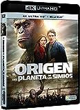 El Origen Del Planeta De Los Simios 4k Uhd [Blu-ray]