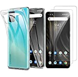 MISIDE Compatible for UMIDIGI Power 3 Case,with UMIDIGI Power 3 Screen Protector.[3 in