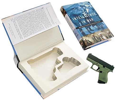 Glock 43 Gun Storage Book Safe - Hollow Hidden Security Case - Made From Real Book