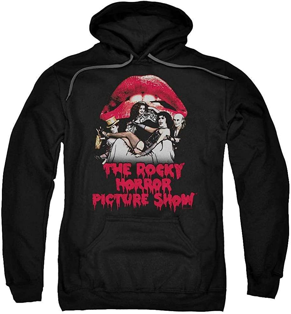 Rocky Horror Picture Show - Hoodi SEAL limited product Adult Throne Casting Pull-Over Nashville-Davidson Mall