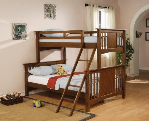 Wildon Home Safford Twin Over Full Mission Bunk Bed