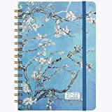 2021-2022 Planner - Academic Weekly & Monthly Planner 2021-2022, Jul 2021 - Jun 2022 with Flexible Hardcover, 8.46' x 6.37', Strong Twin- Wire Binding, 12 Monthly Tabs, Inner Pocket, Elastic Closure