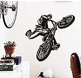 Sticker Mural Décoration De La Maison Art Pas Cher Décoration De La Maison Belle Figure Vélo Sticker Mural Vinyle Maison Décor Sports Vélo Stickers Dans La Salle De Gym Bar Et Boutique 86 * 89Com