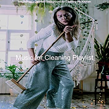 Magical Jazz Quartet - Background for Cleaning the Kitchen
