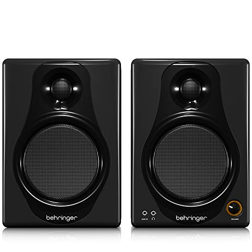 Behringer Media 40USB Bafle Monitor, Color Negro