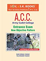 Indian Army Cadet College ACC Entrance Exam Guide English Medium 2019