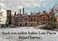 Auch von aussen haben Lost Places ihren Charme (Tischkalender 2022 DIN A5 quer): Lost Places von aussen haben auch ihren besonderen Charme (Monatskalender, 14 Seiten )