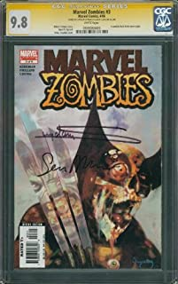 Marvel Zombies #3 Signature Series CGC 9.8(NM/MT)!! Singed by Artist Sean Phillips and Cover Artist Arthur Suydam!! RARE Vol.1 Volume 1 1st Print!! Incredible Hulk #340 Cover Swipe!! (Marvel Zombies, 1st First Print)