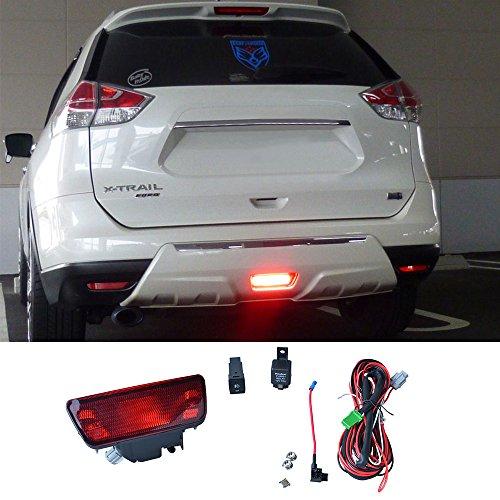 DILIDILI T32 F15 Z52 - Parachoques trasero halógeno (21 W, luz roja para Nissan Juke 2011-18 Murano 2015-18 Rogue/X-Trail 2014-18)