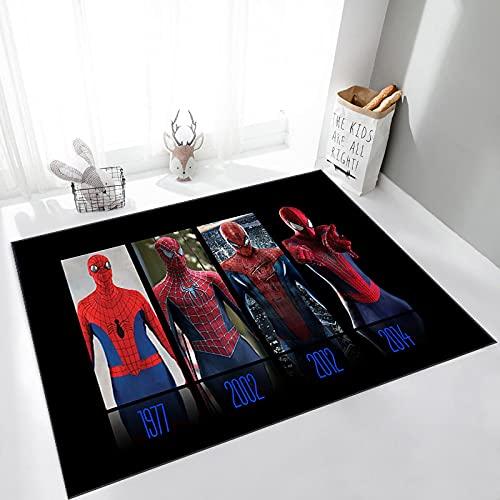 Haiqings Avengers Tapis Salon Chambre Chambre d'enfants Chevet Spiderman Tapis de Sol Ordinateur Chaise Tapis 200x300cm