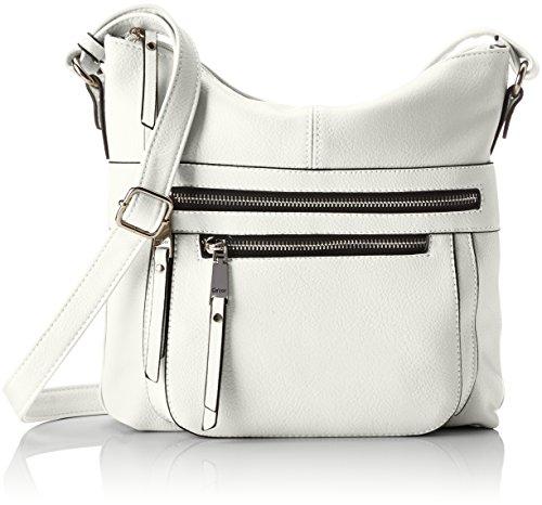 Gabor Umhängetasche Damen Tina, (Weiß), 6x26x27.5 cm, Gabor Handtasche Damen