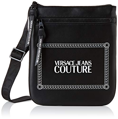 Versace Jeans Couture Bag, Herren Rucksack, Schwarz (899+003), 1x24x22 cm (W x H L)