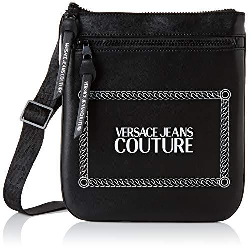 Versace Jeans Couture Herren Bag Rucksack, Schwarz (899+003), 1x24x22 centimeters