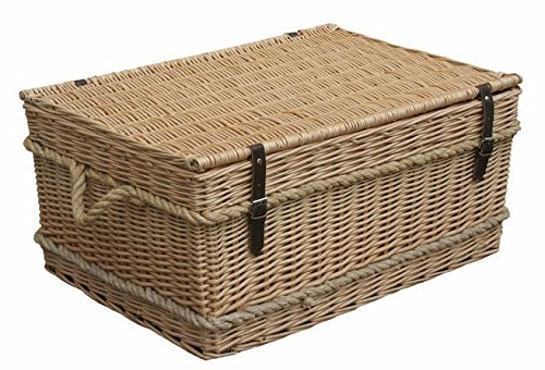 72cm Rope Handled Trunk Picnic Basket