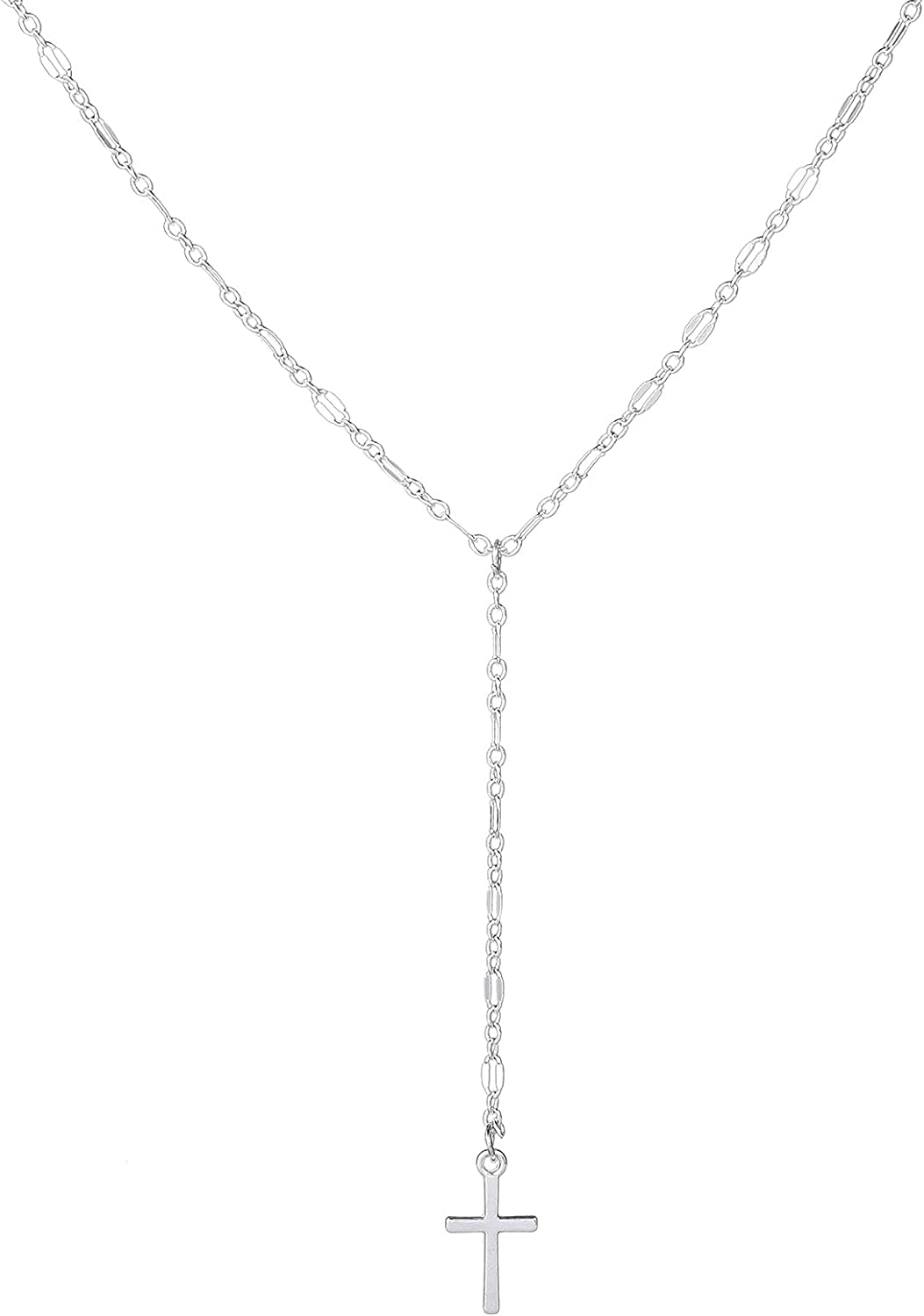 Ranking TOP19 Yfe Women Indefinitely Cross Pendant Necklace Pendent Crystal Jewelry N